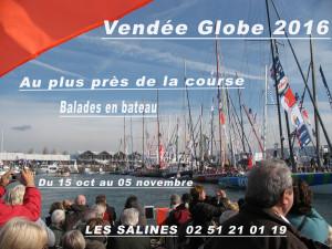 Nous serons présents sur la 8ème édition du Vendée Globe. Retrouvez-nous au coeur du Village à partir du 15 octobre 2016.