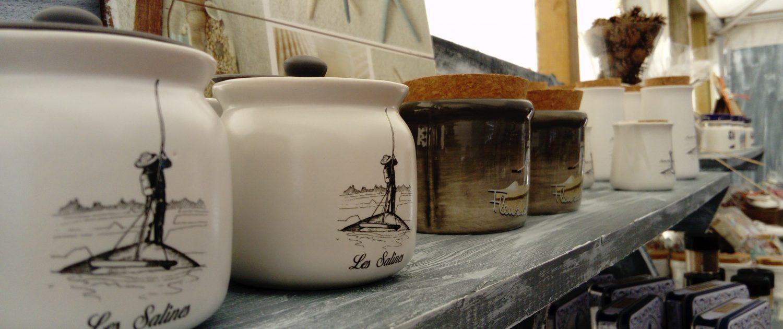Fleur de sel de notre production - Marais Salant Sables d'Olonne