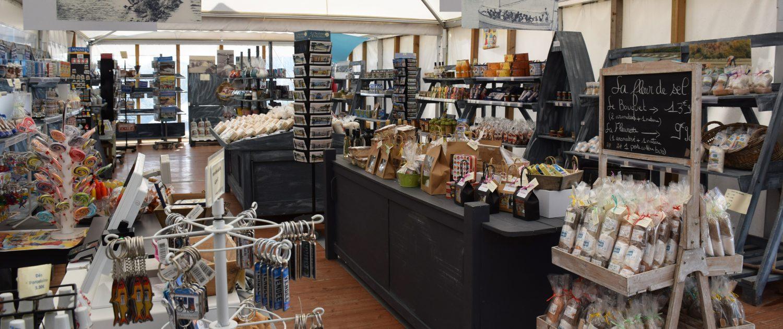 Boutique des Salines vente de notre production - Marais des Sables d'Olonne