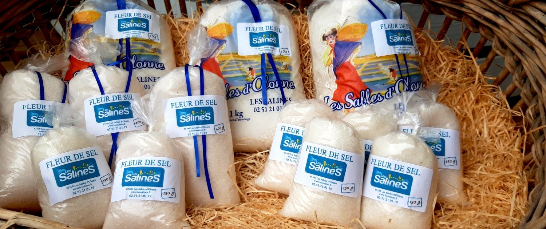 Fleur de sel des Salines Sables d'Olonne